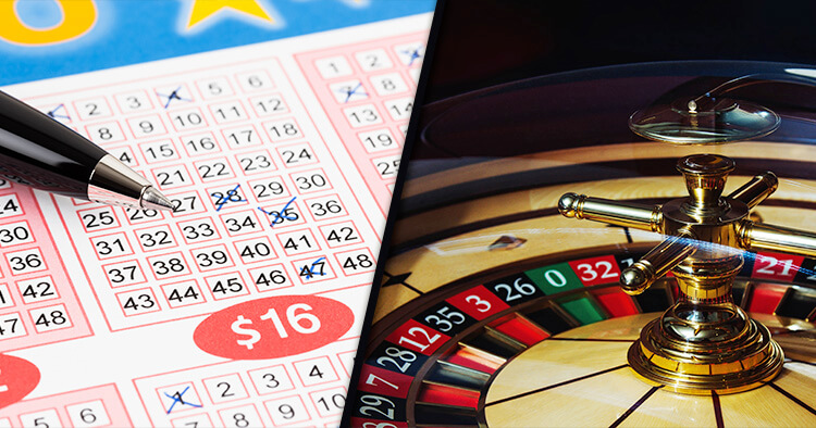 Casino or Lottery: Which gives the Best Odds to Pay-out Ratio?