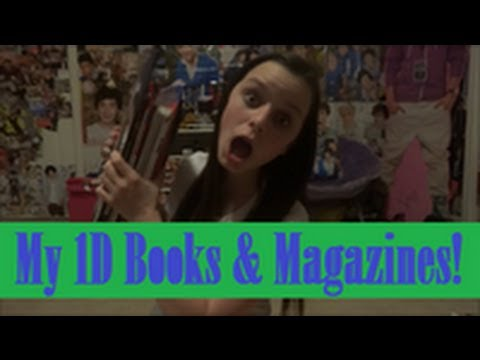 My One Direction Books and Magazines!!