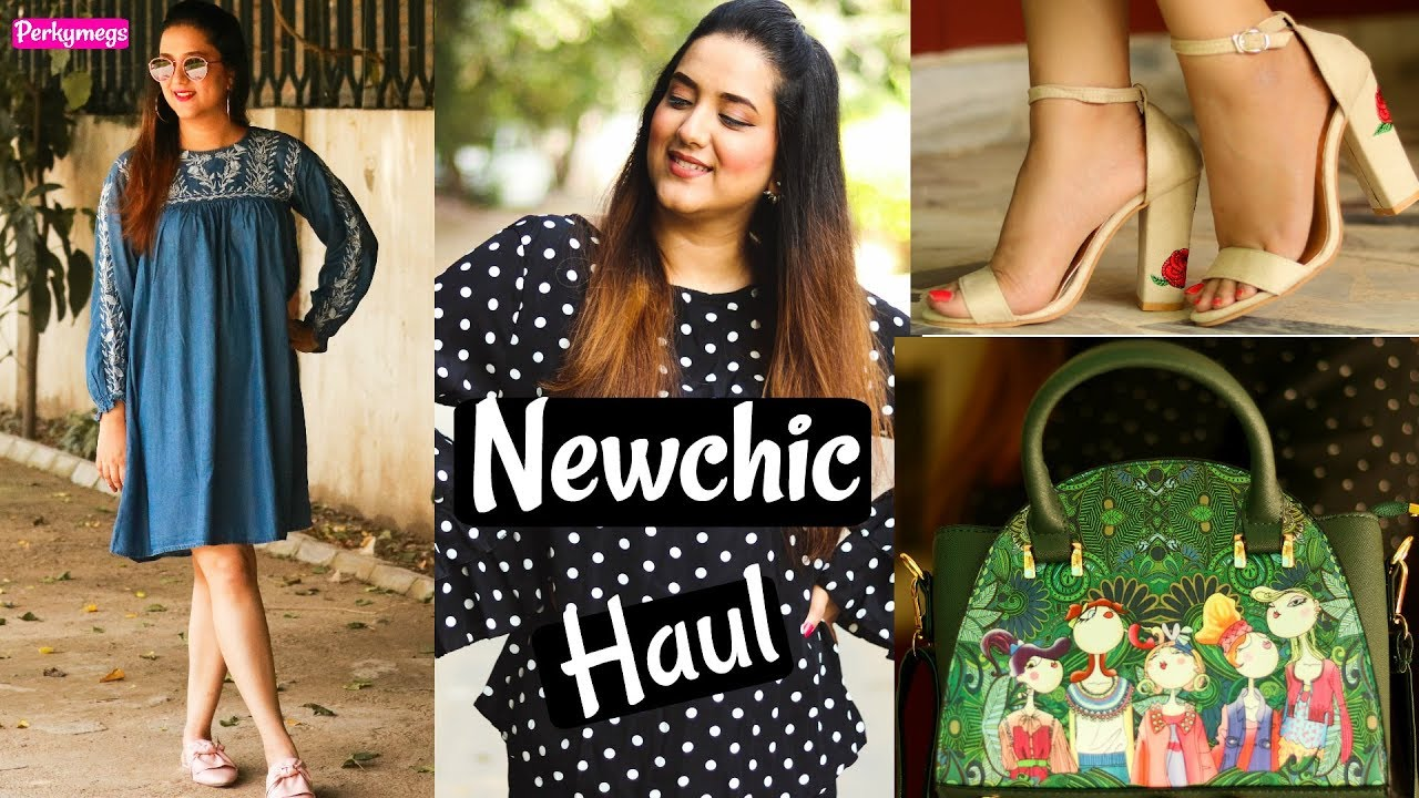 Newchic Try on Haul & Review | Clothes Accessories shoes and more | Perkymegs