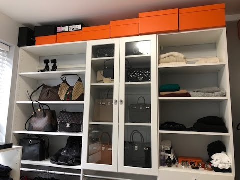 Closet Tour! (Designer accessories, clothing & shoes and organization)
